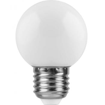 Лампа для белт лайта сд цоколь Е27 1.5W  белая