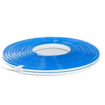 Неон 6*12мм 12V голубой