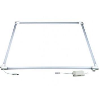 Рамка св/д универсальная 36W (3600Lm)  595*595*20 пласт/белый IP40
