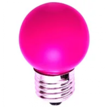 Лампа для белт лайта сд цоколь Е27 1.5W розовый