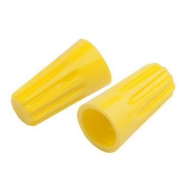 Соединительный изолирующий зажим СИЗ-4 желтый