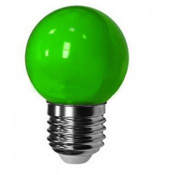 Лампа для белт лайта сд цоколь Е27 1.5W зеленый